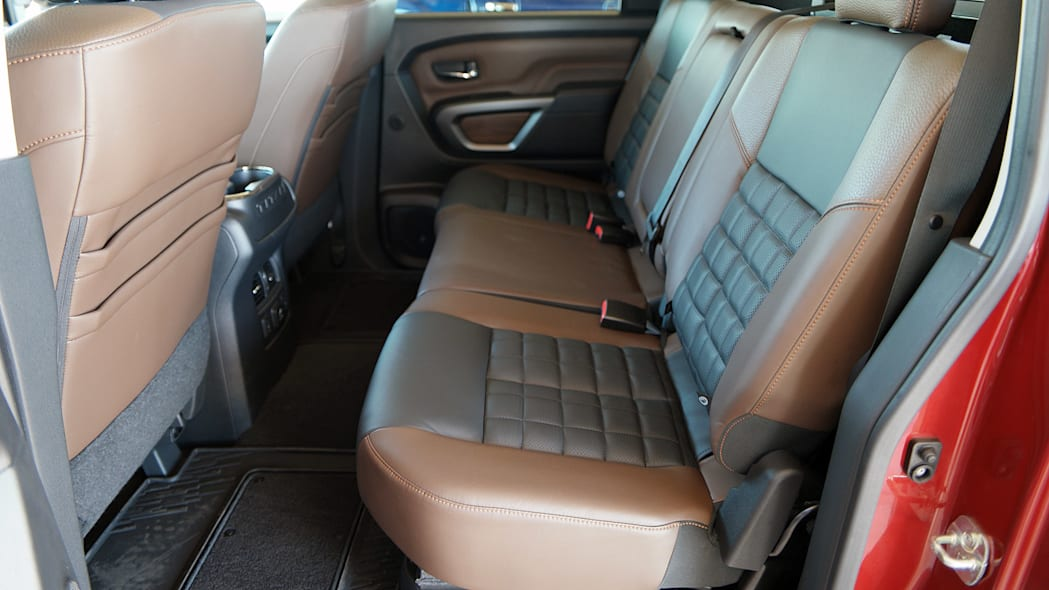 2016 Nissan Titan rear seats