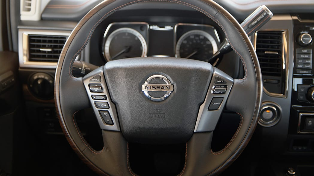 2016 Nissan Titan steering wheel