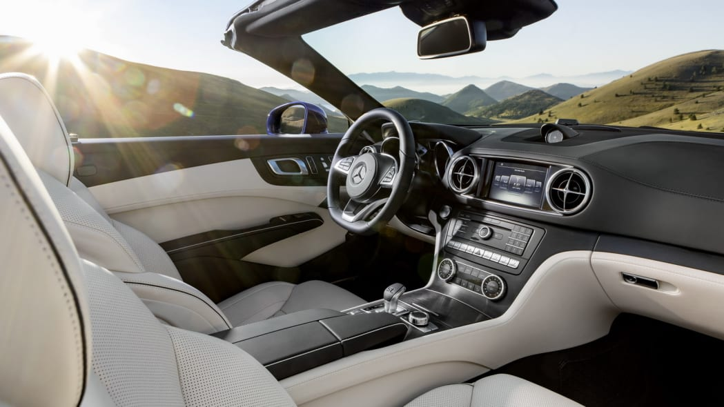 2017 mercedes sl interior outside