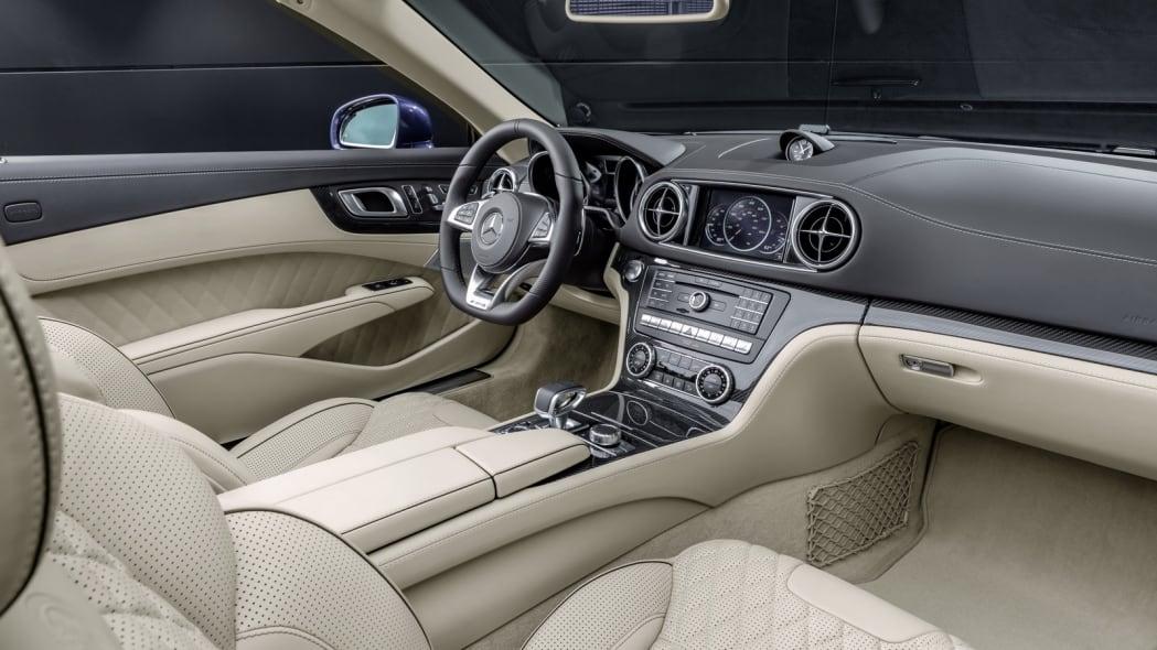 2017 mercedes sl interior quilted leather