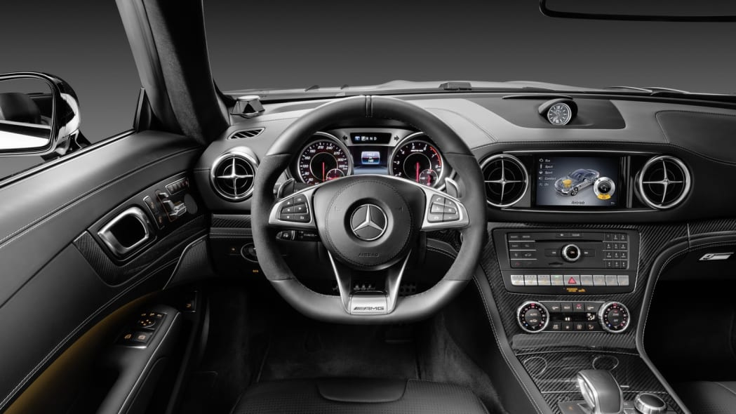 2017 mercedes sl interior cockpit