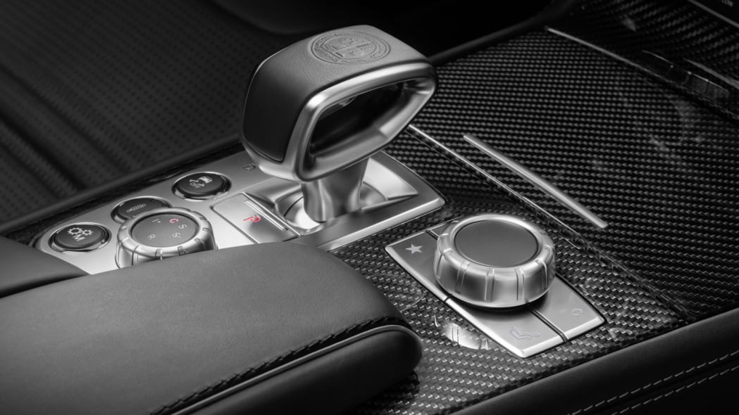2017 mercedes sl interior gearshift