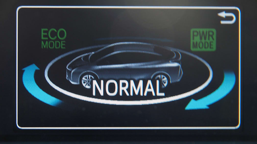 2016 Toyota Prius normal mode