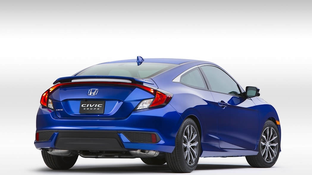 front honda civic coupe 2017 two-door
