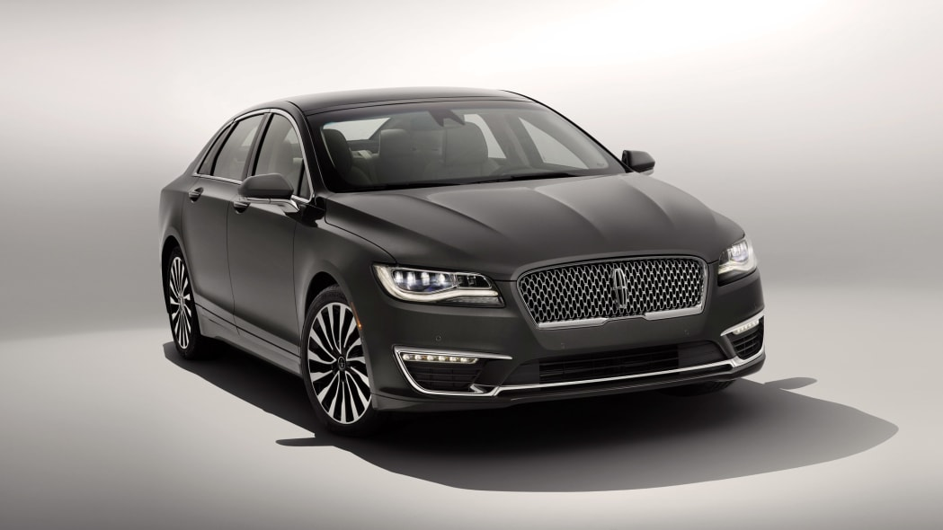 2017 lincoln mkz front grille