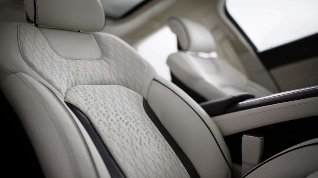 2017 lincoln mkz seats