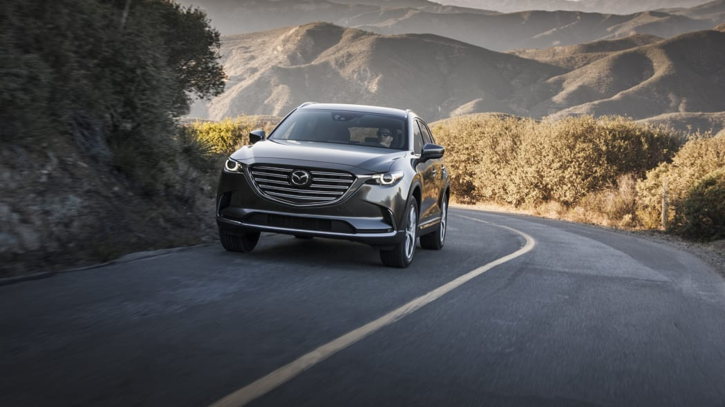 2017 cx-9 mazda driving mountains