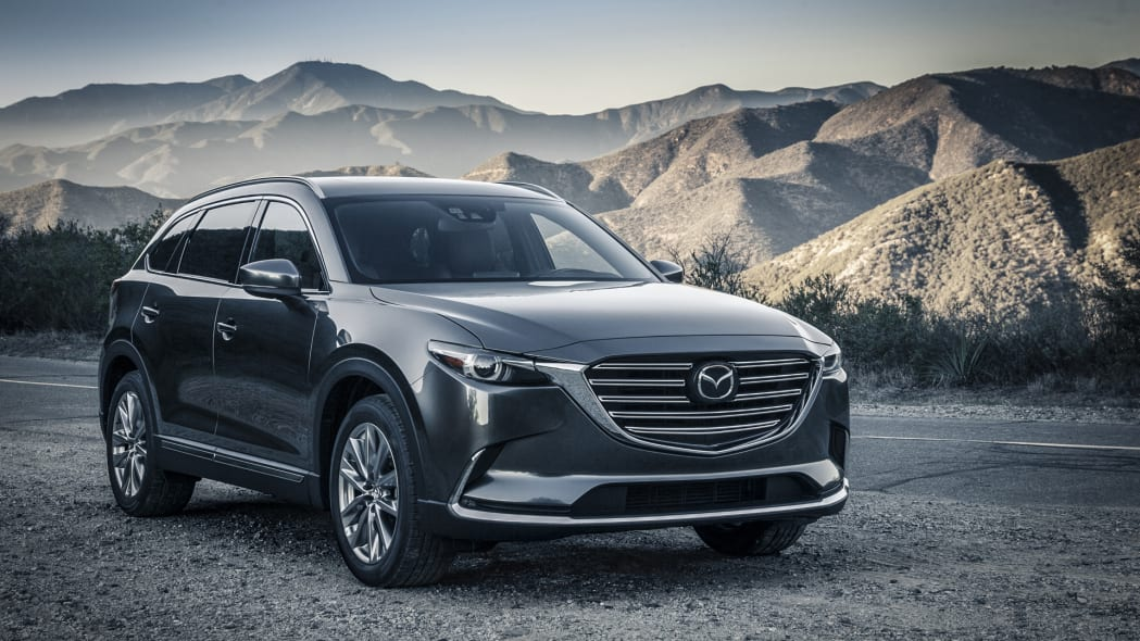 cx-9 mazda front mountains 2017