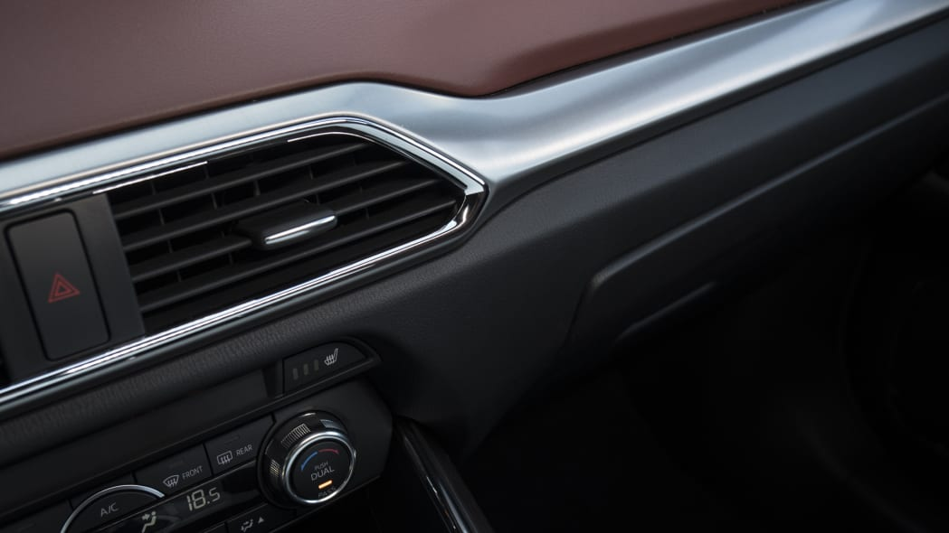 2017 cx-9 mazda aluminum dash leather
