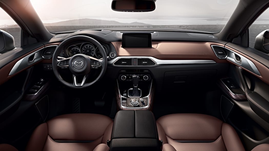 2017 interior mazda cx-9 dash