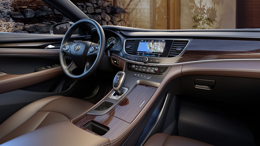cabin interior leather buick lacrosse 2017