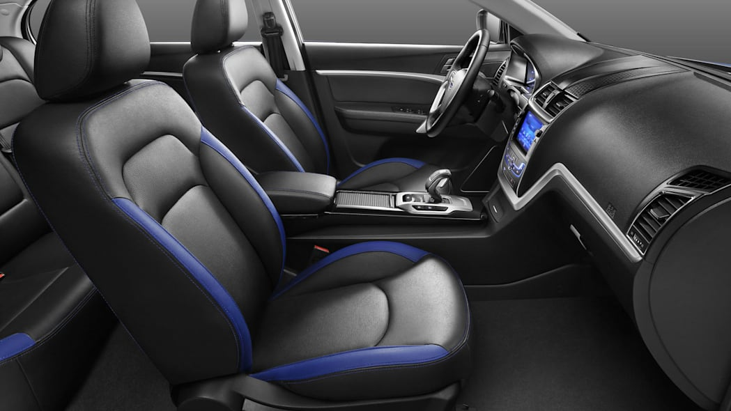Geely Emgrand EV front seats