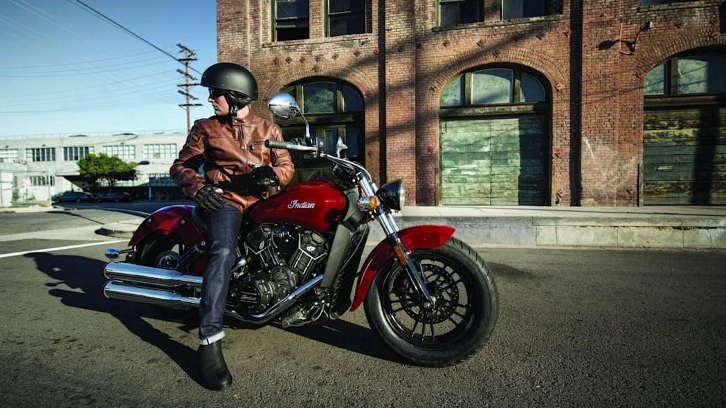 2016 indian scout sixty on road