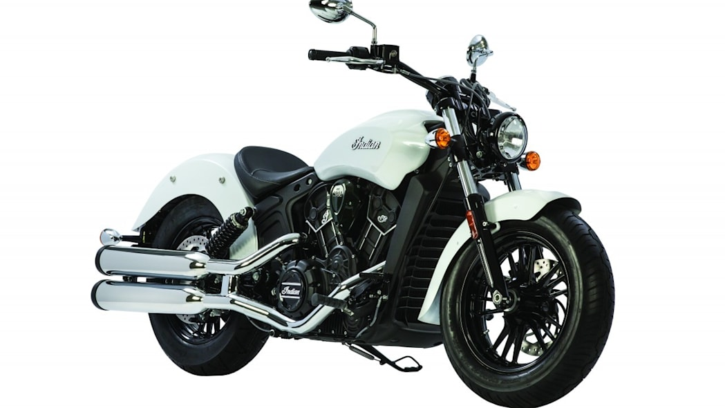 2016 indian scout sixty white studio