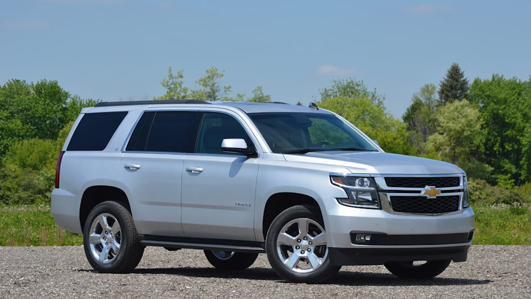 2016 Chevy Tahoe in silver