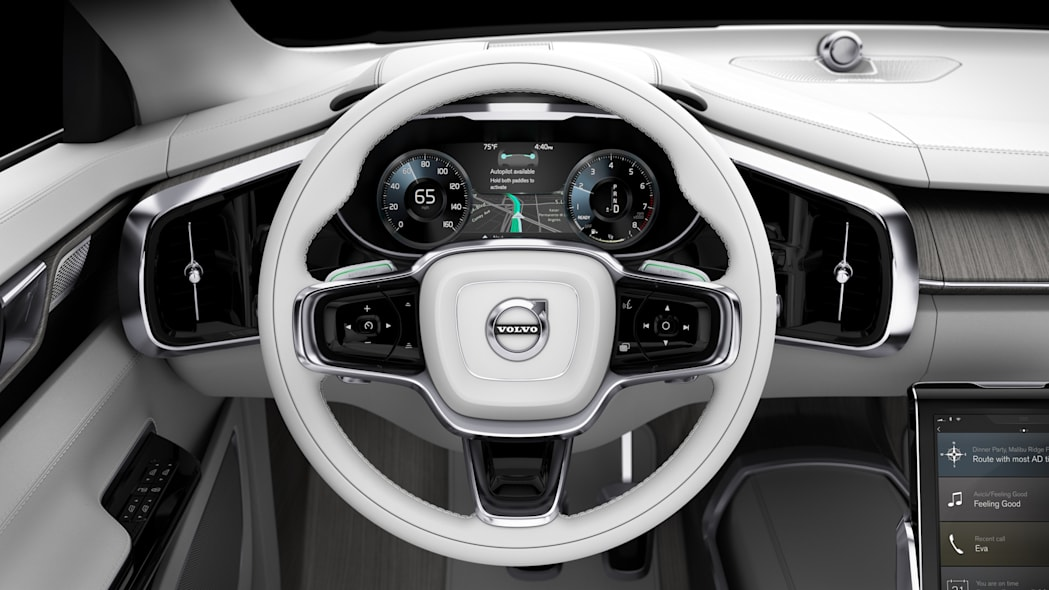 volvo concept 26 interior steering wheel instruments