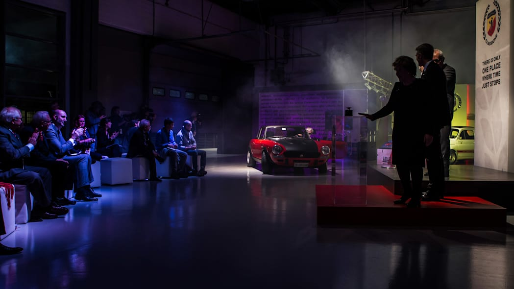 Abarth Classiche press conference