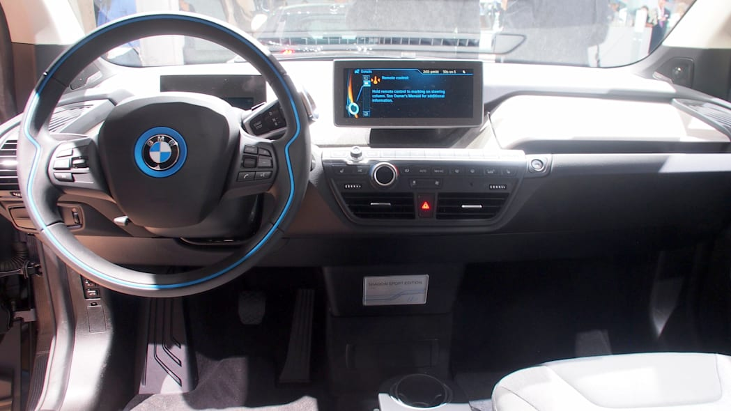 dashboard of the BMW i3 Shadow Sport Edition