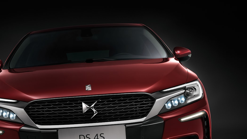 DS 4S citroen front detail