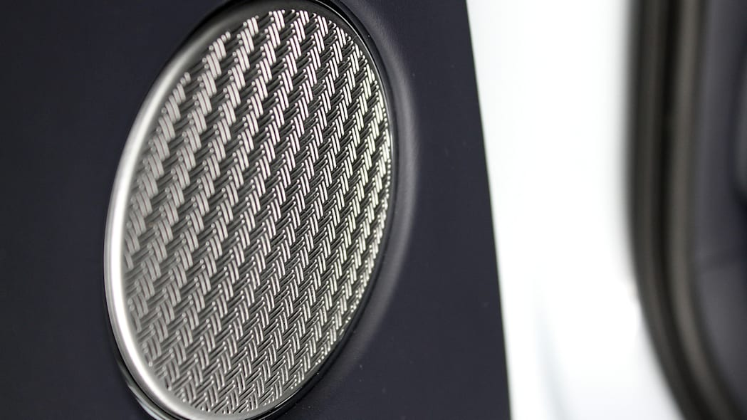 2016 Bentley Bentayga door speaker