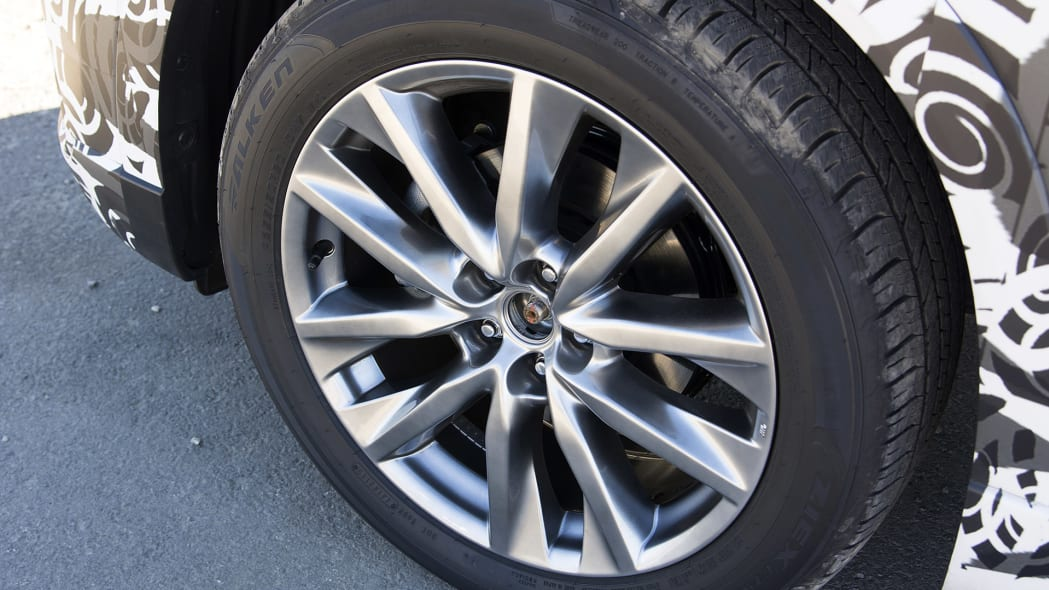 2017 Mazda CX-9 Prototype wheel