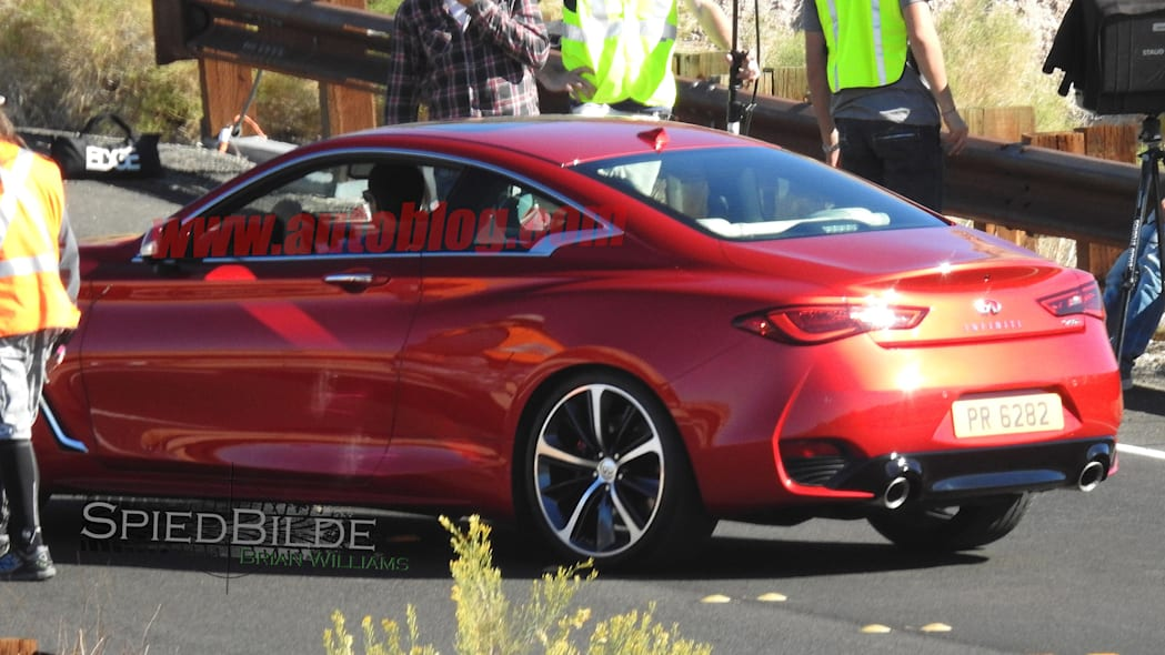 spied q60 infiniti coupe spy photos 2017