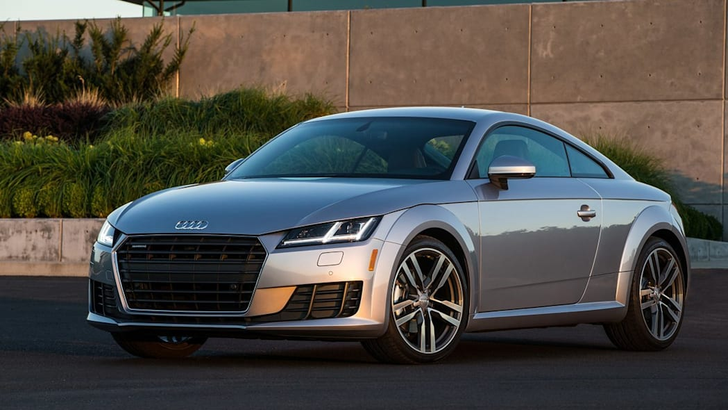 2016 Audi TT coupe in silver