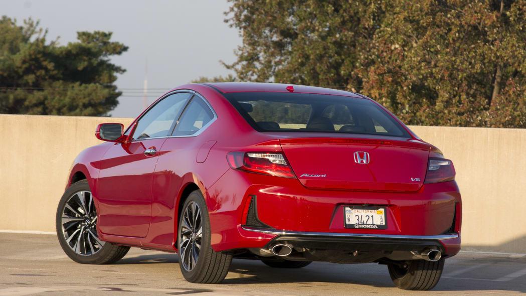 accord v6 rear coupe honda tail