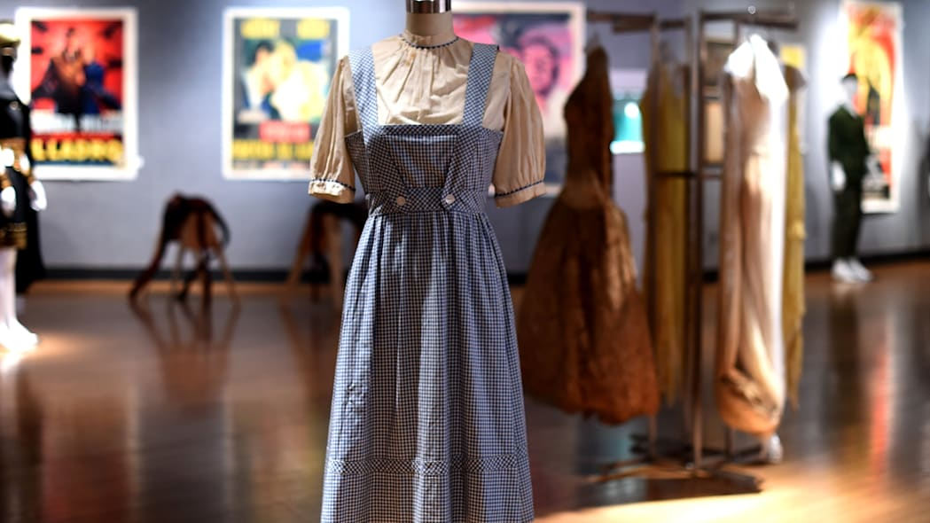 Judy Garland's dress from The Wizard of Oz