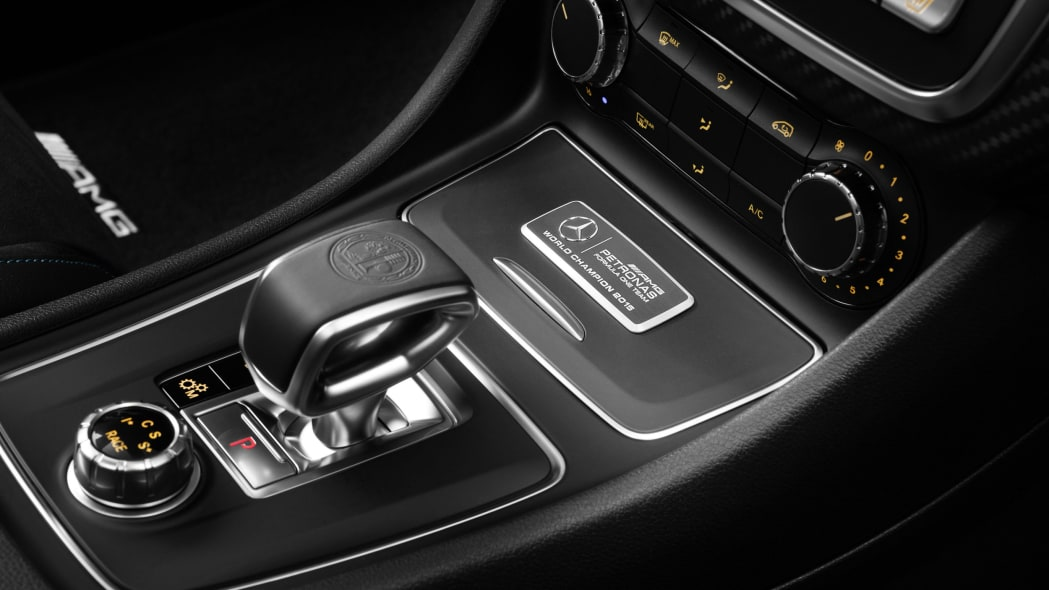 Mercedes-AMG A45 World Champion Edition center console