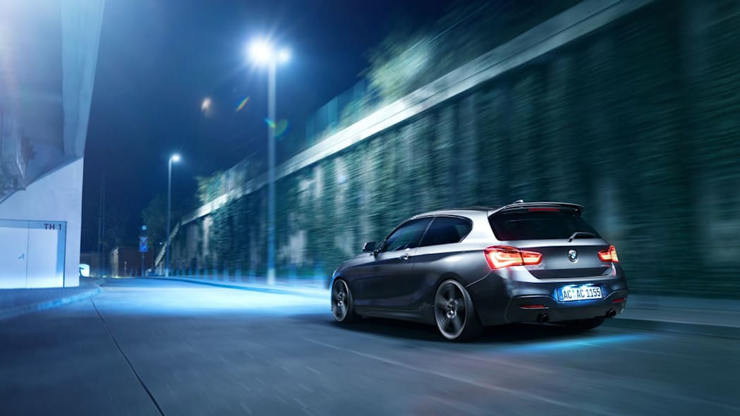 BMW 150d by AC Schnitzer moving rear 3/4