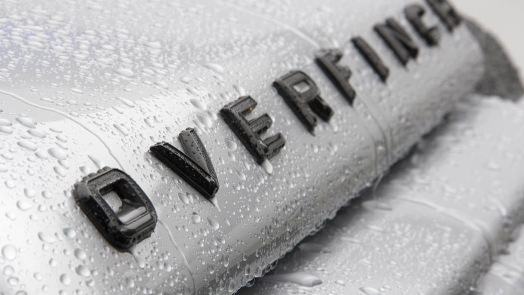 Overfinch Land Rover Defender 40th Anniversary Edition lettering