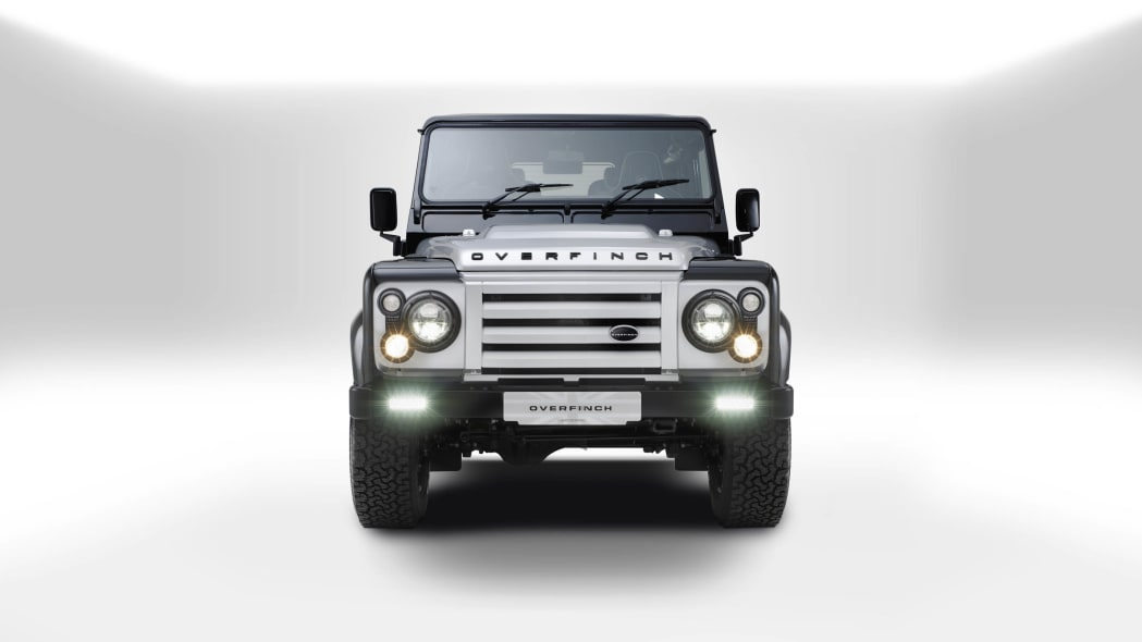 Overfinch Land Rover Defender 40th Anniversary Edition front
