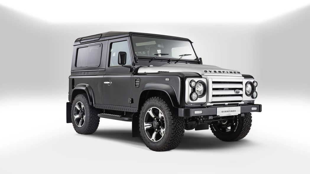 Overfinch Land Rover Defender front 3/4
