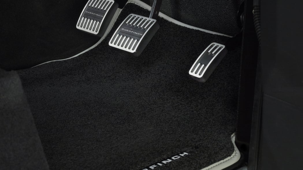 Overfinch Land Rover Defender pedals