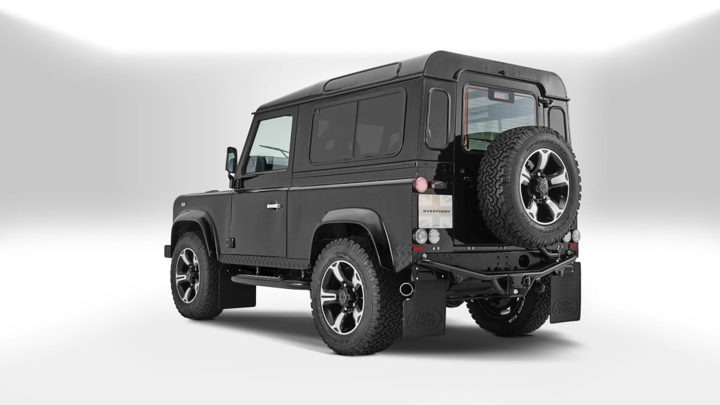 Overfinch Land Rover Defender 40th Anniversary Edition rear 3/4