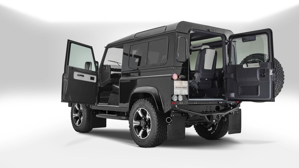 Overfinch Land Rover Defender 40th Anniversary Edition doors open