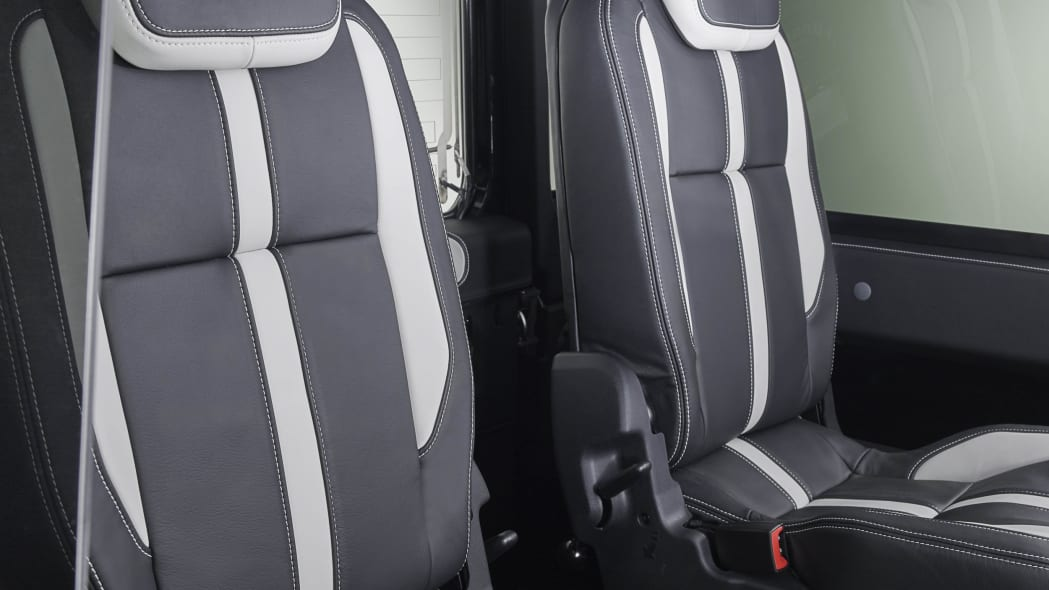 Overfinch Land Rover Defender 40th Anniversary Edition seats