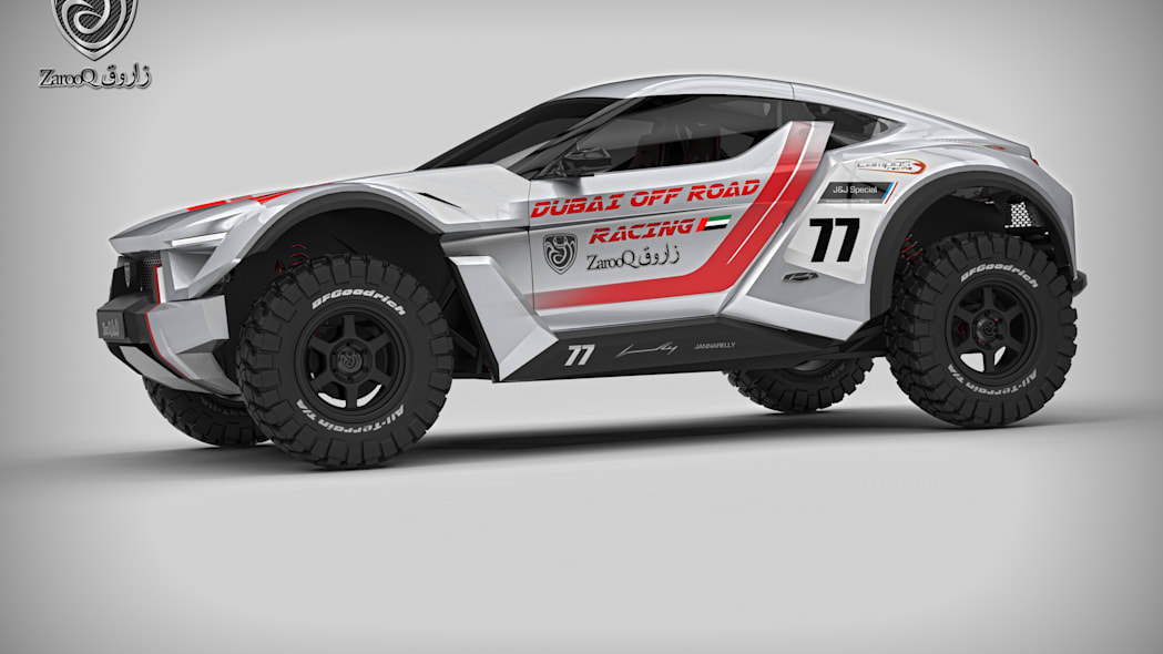 Zarooq SandRacer racing livery side front
