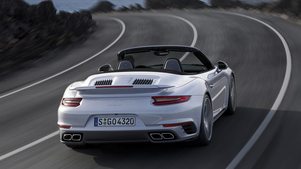 911 porsche tail rear taillights turbo cabriolet