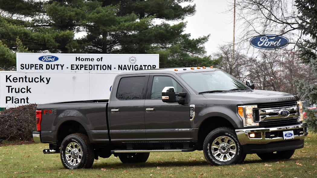 2017 ford f-series super duty at kentucky truck plant