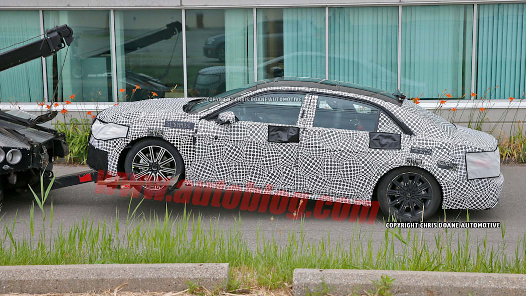 spy shot lincoln continental camouflage