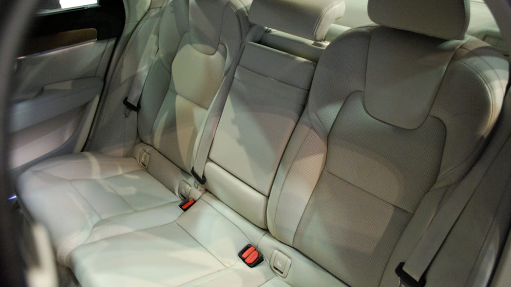 2017 Volvo S90 live reveal rear seats