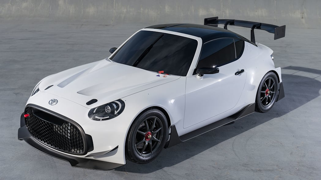 white toyota s-fr racing concept