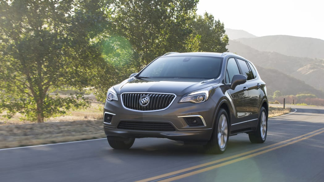 2017 envision buick action speed