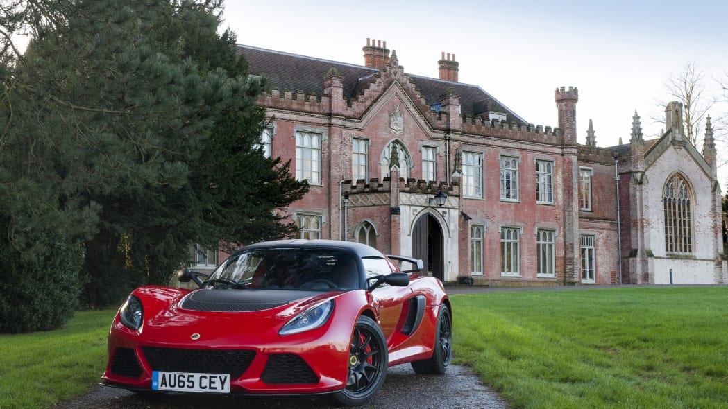 Lotus Exige Sport 350 red front 3/4