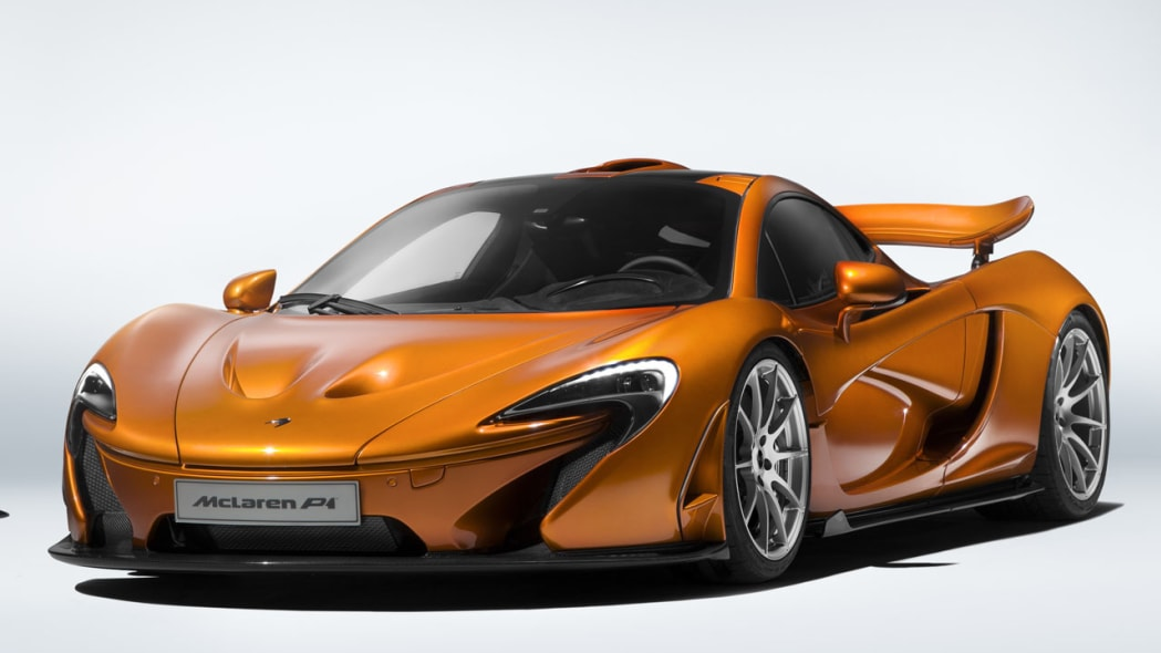 Say goodbye to the McLaren P1