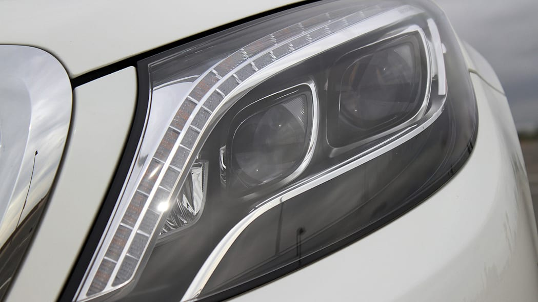 2016 Mercedes-Maybach S600 headlight