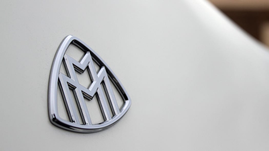 2016 Mercedes-Maybach S600 badge