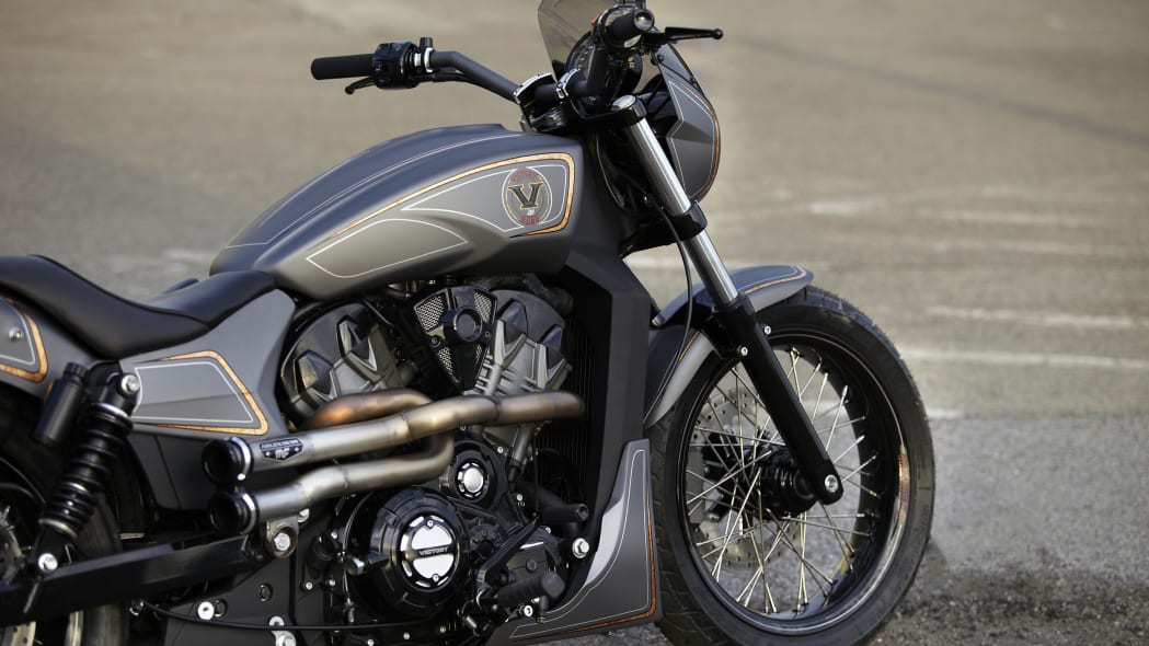 Victory Combustion Concept front end detail